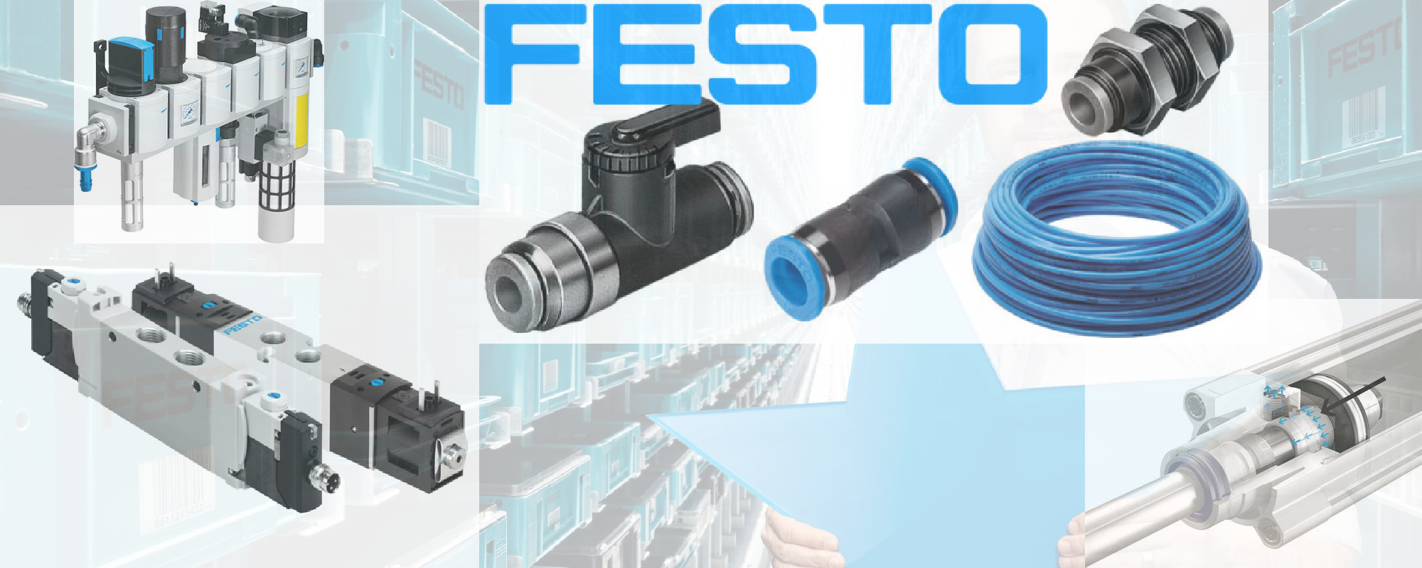 Official Festo Distributor (UK) - Parker Hydraulics